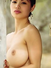 Chinese Cowgirl with Large Breasts